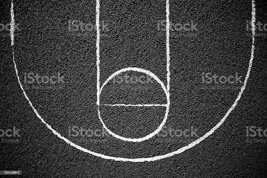Streetball stock photo