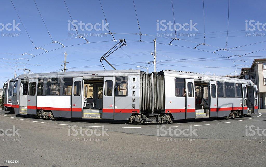Streetcar II stock photo