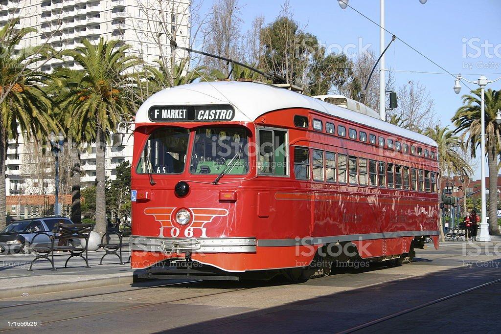 Streetcar stock photo