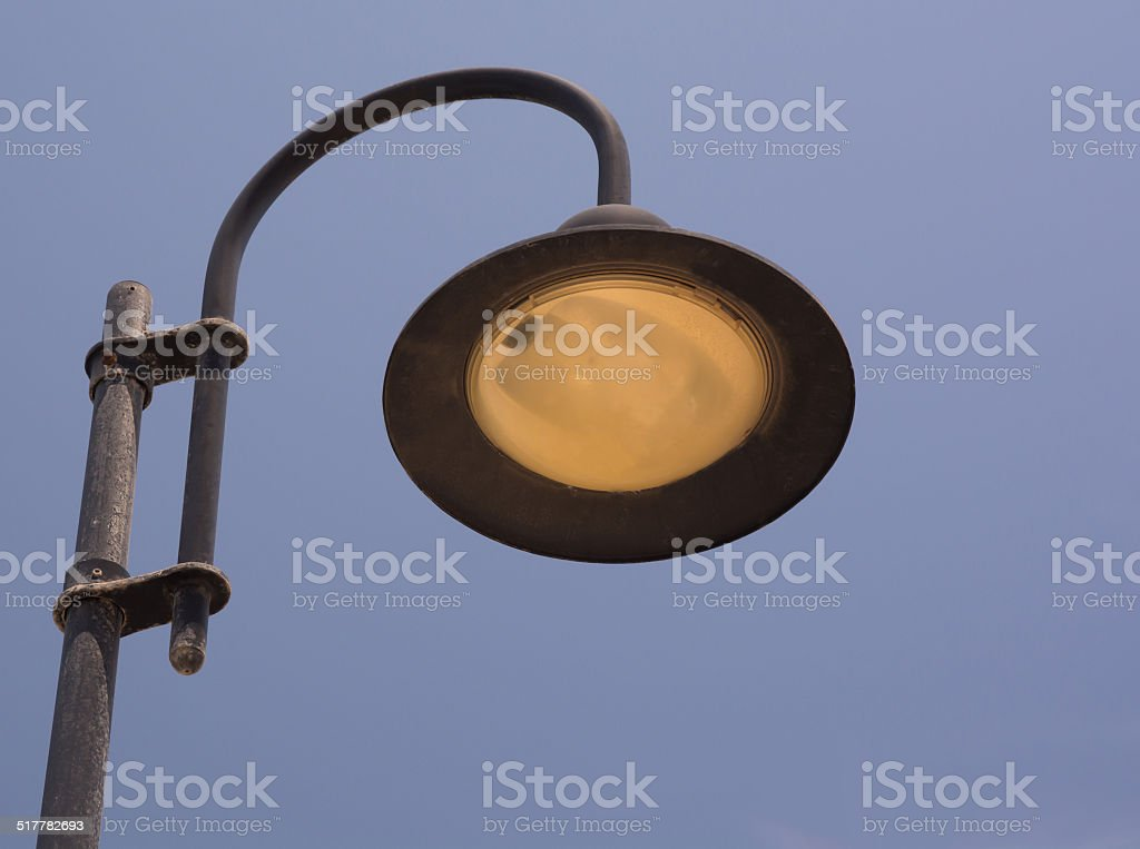 Streetlamp stock photo