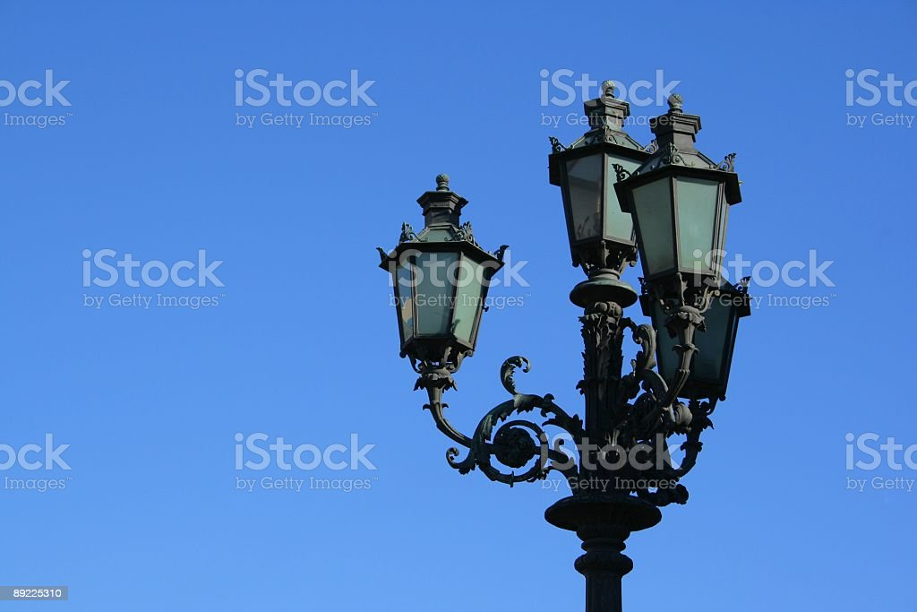 street-lamp royalty-free stock photo