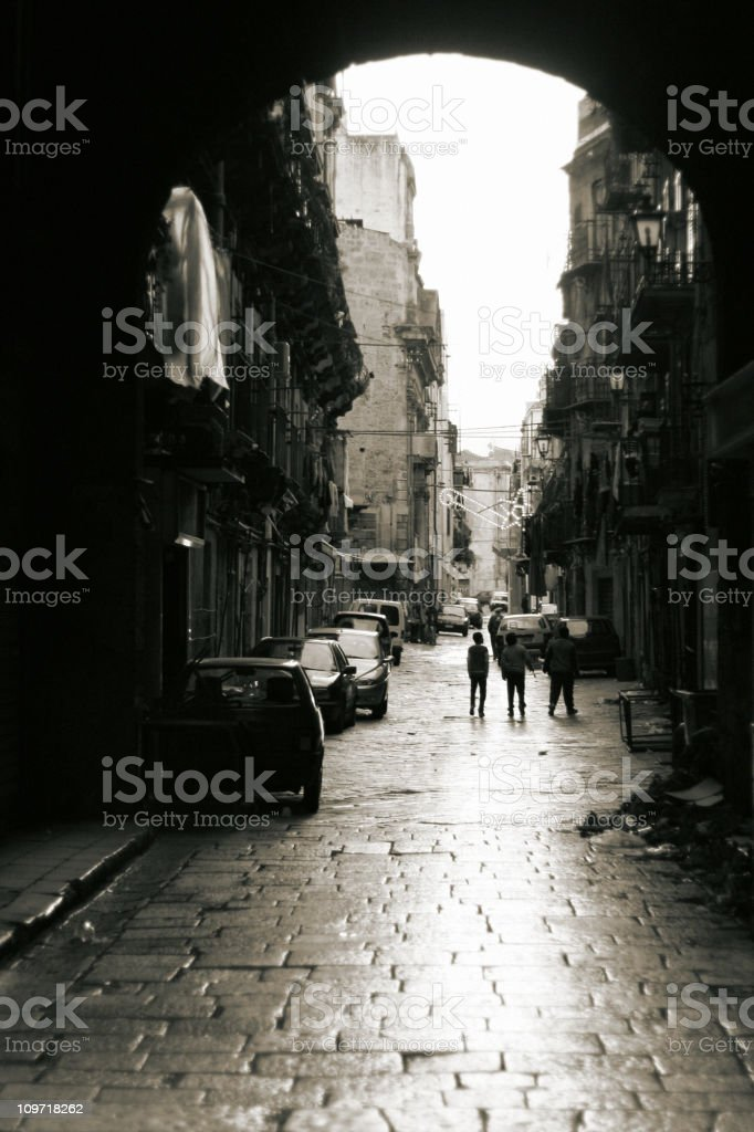 streetlife royalty-free stock photo