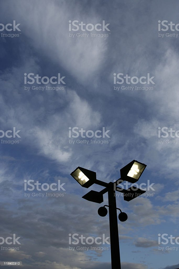 Streetlight royalty-free stock photo