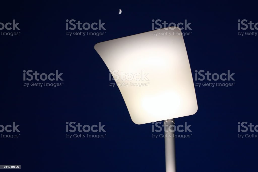 Streetlight stock photo