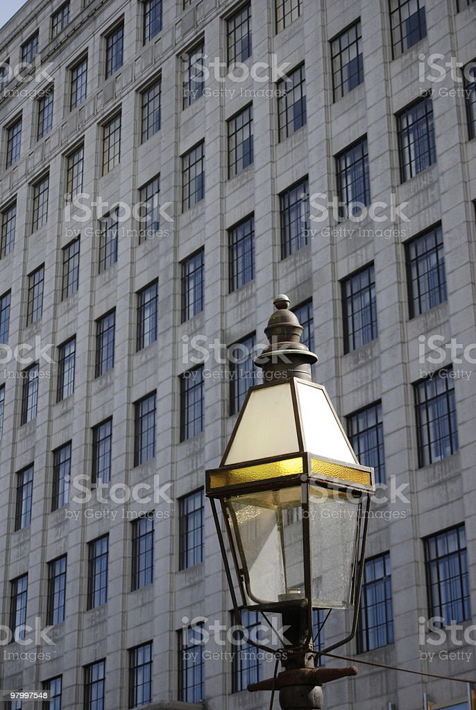 Streetlight royalty free stockfoto