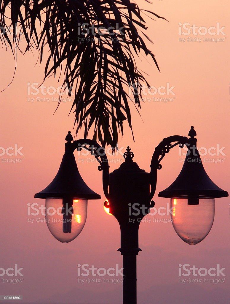 Streetlights royalty-free stock photo