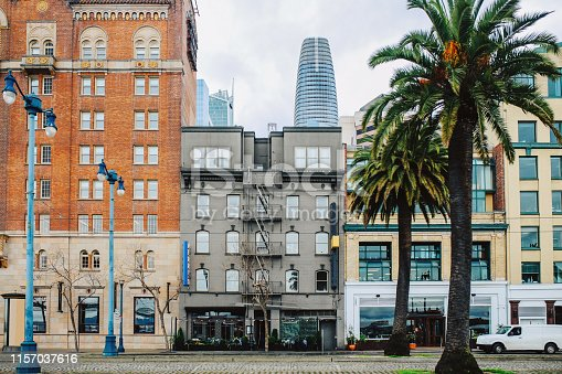 istock Streets and buildings of San Francisco, California 1157037616