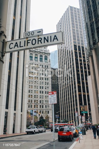istock Streets and buildings of San Francisco, California 1157037647