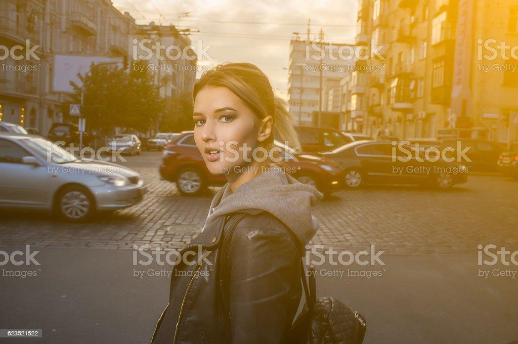 Street's girl - foto stock