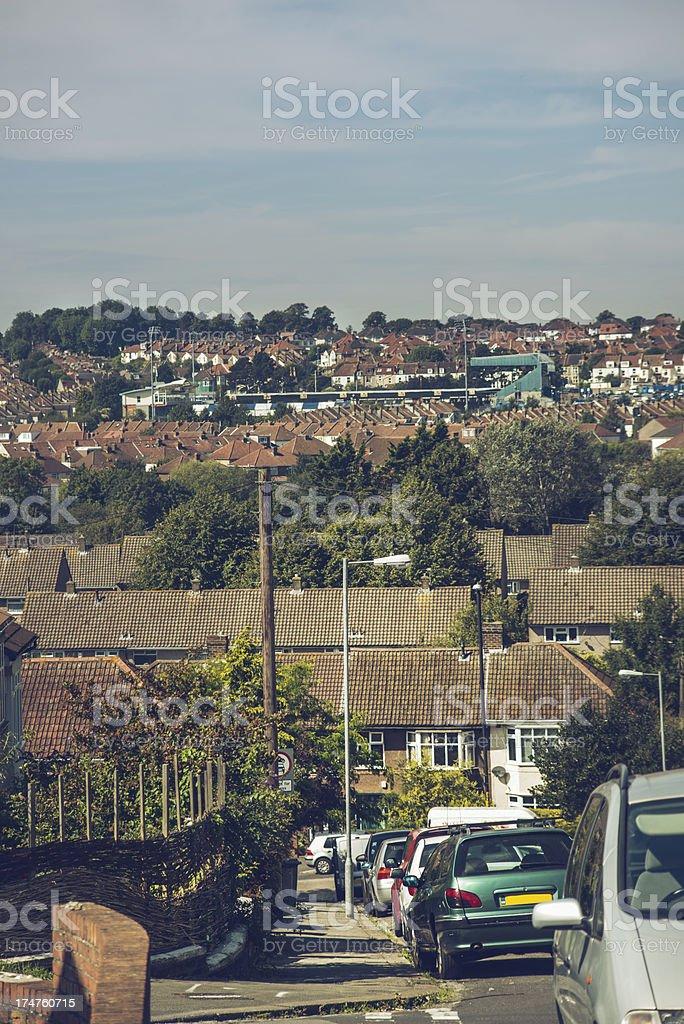 streets of Bristol royalty-free stock photo