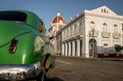 Streets Of Camaguey Stock Photo - Download Image Now
