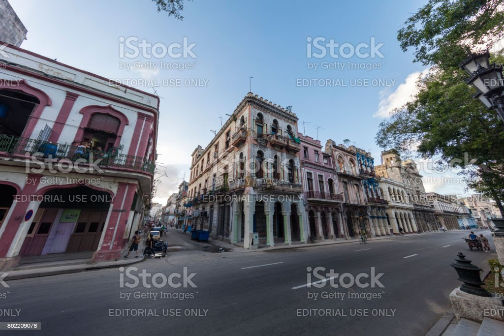 Streets of havana, cuba stock photo