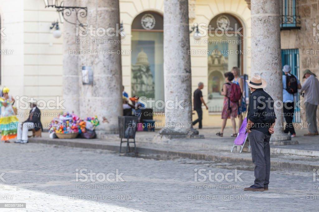 Streets of havana, cuba stock photo