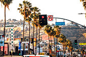 Beverly Boulevard in LA.\nCalifornia, USA