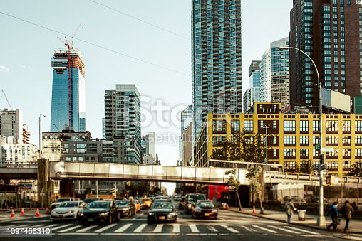 813211754 istock photo Streets of manhattan 1097458310