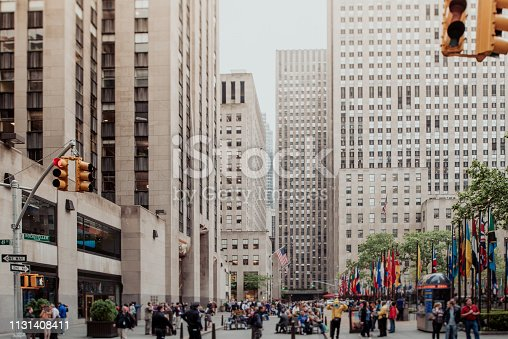 813211754 istock photo Streets of manhattan 1131408411