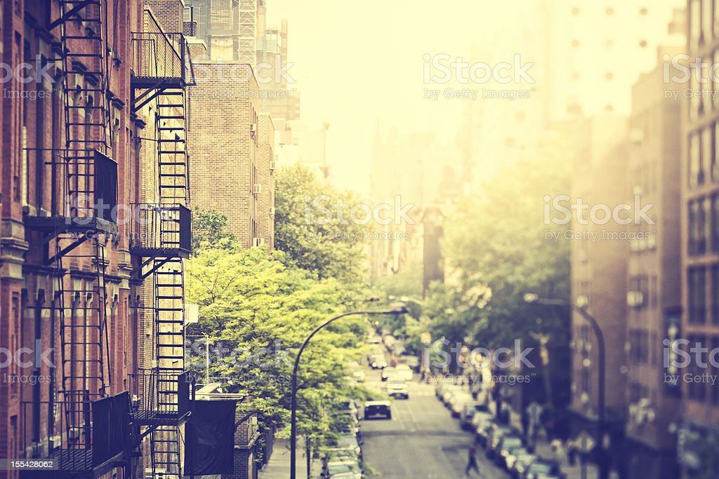 Streets of New York City / Meatpacking District royalty-free stock photo