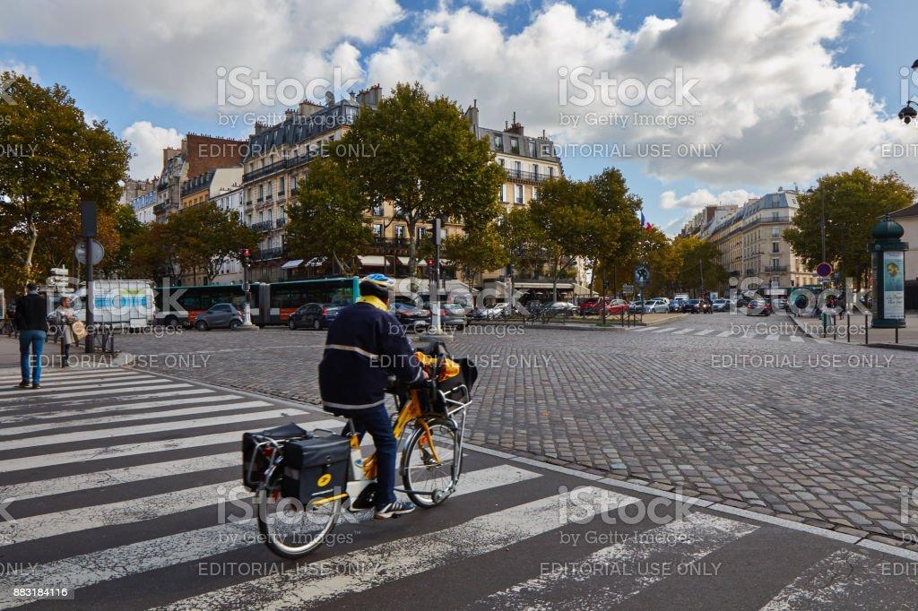 Ruas de Paris. - foto de acervo