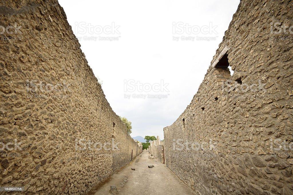 Straßen von Pompeji – Foto