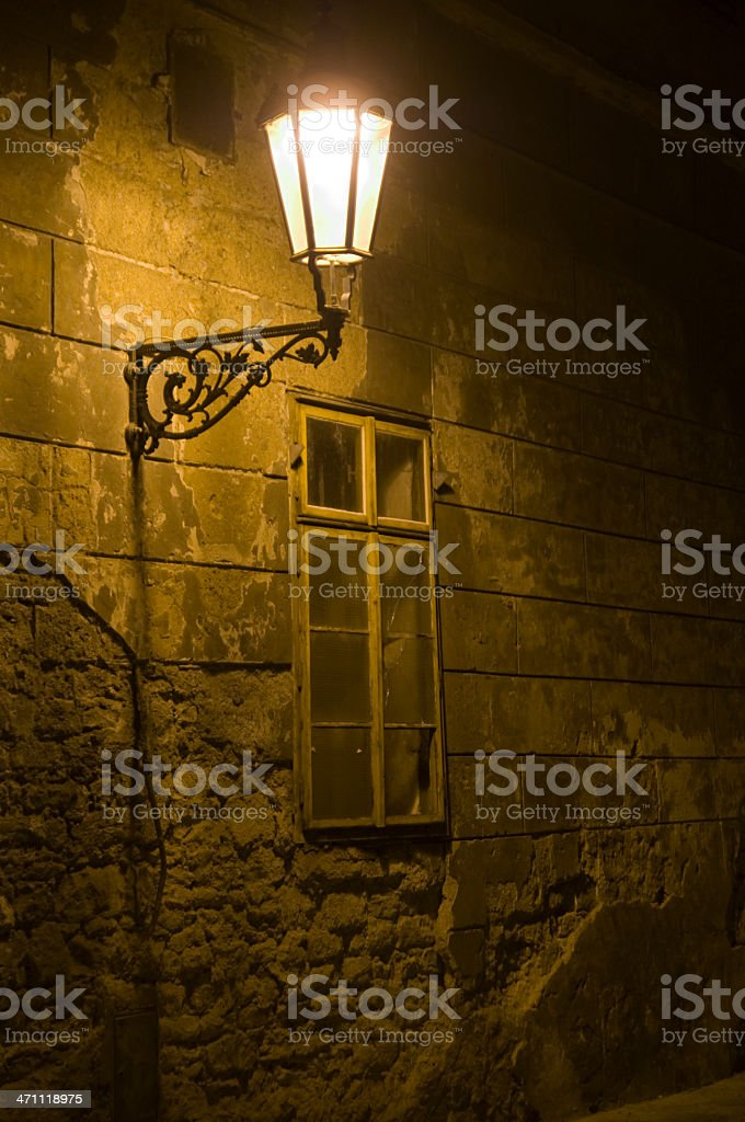 Streets of Prague royalty-free stock photo