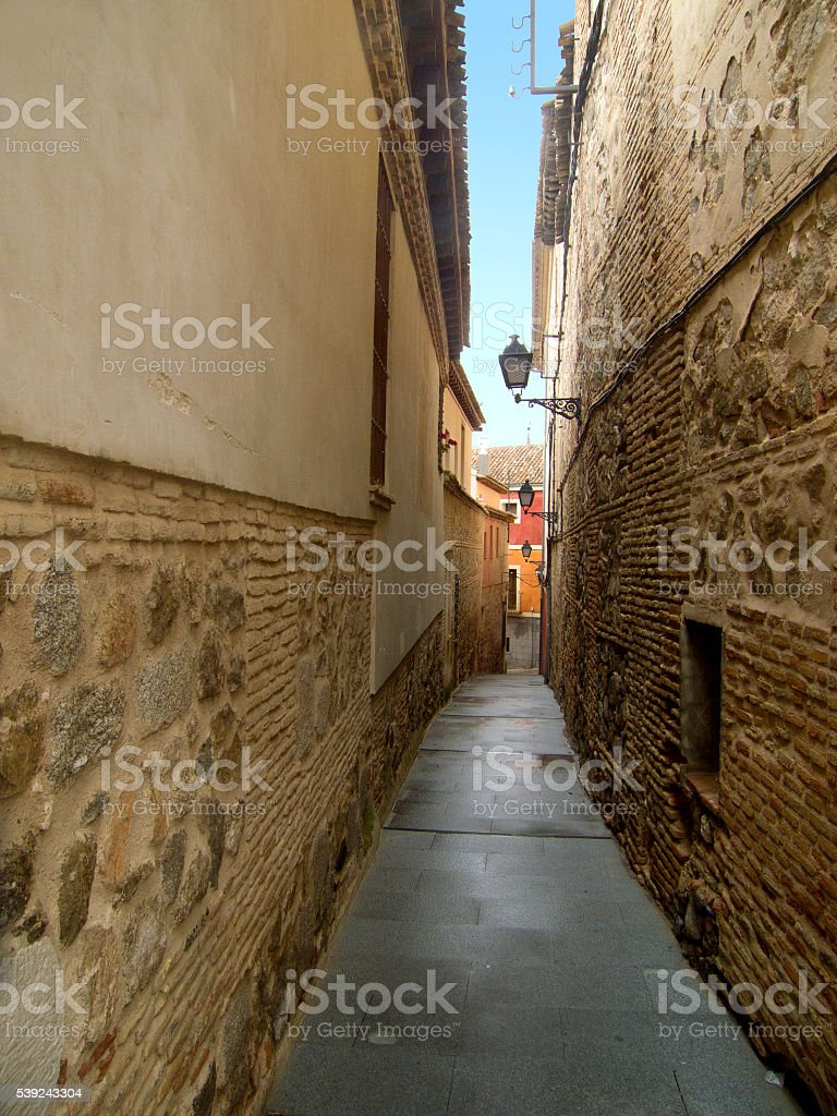 Streets of Toledo royalty-free stock photo