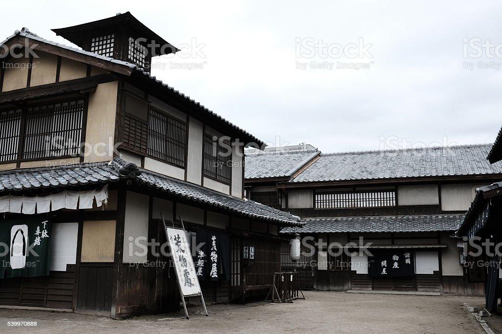 Straßen Von Traditionellen Häuser Von Japan Futter - Stockfoto | iStock