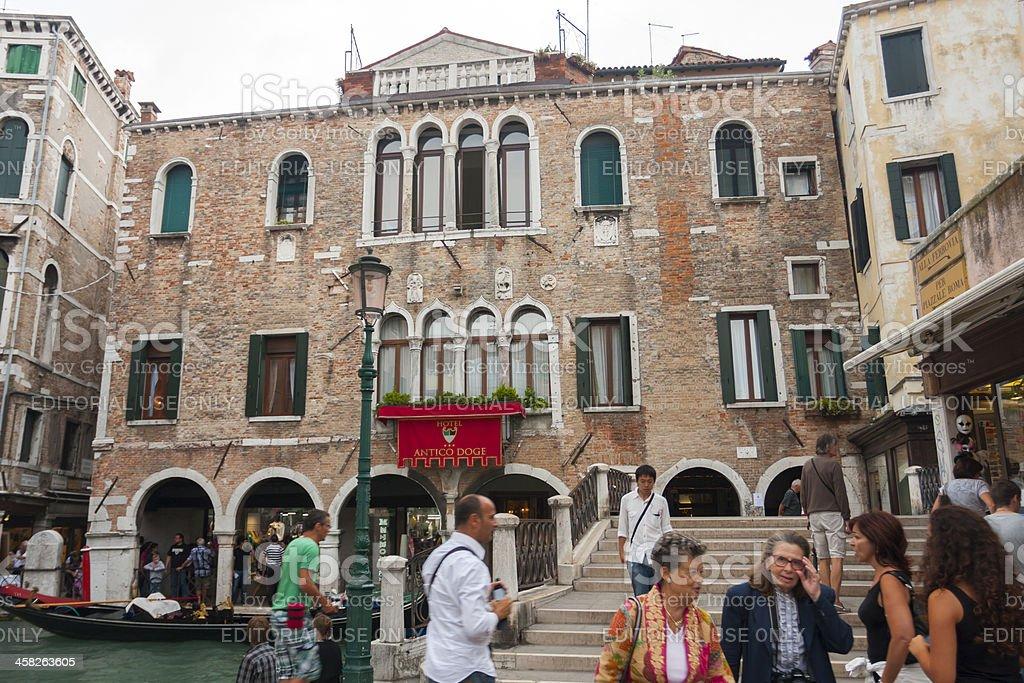 Streets of Venice royalty-free stock photo