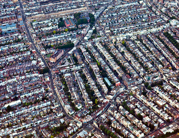 Streets stock photo