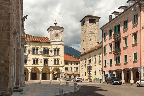 Streetview-Belluno, Norditalien – Foto