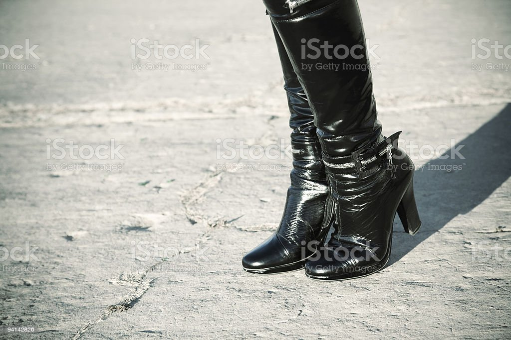 streetwalker stock photo