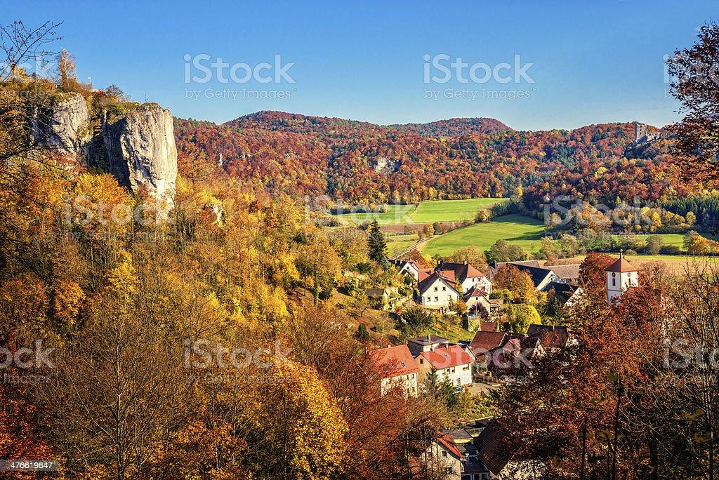 Streitberg und Wiesenttal valley – Foto