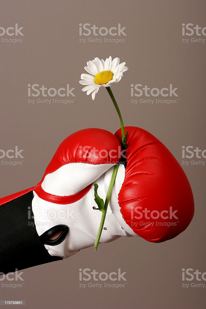 Strength and Beauty royalty-free stock photo