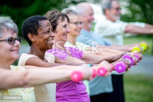 istock Strength Exercise 1000888034