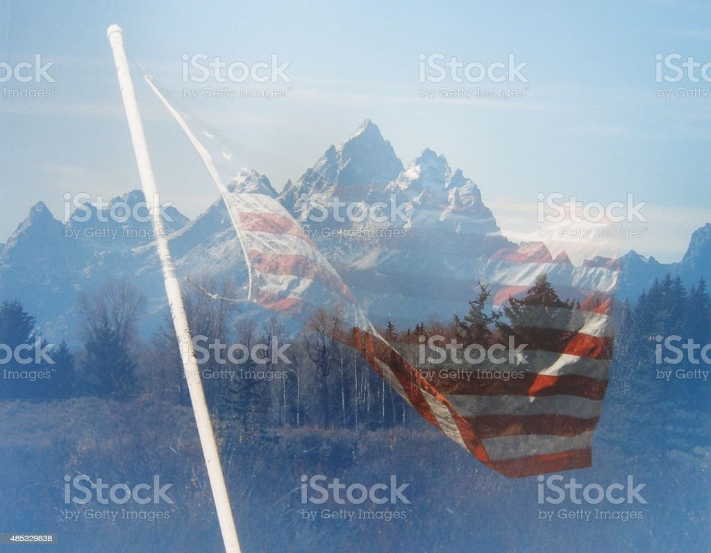 Strength of the Mountains stock photo