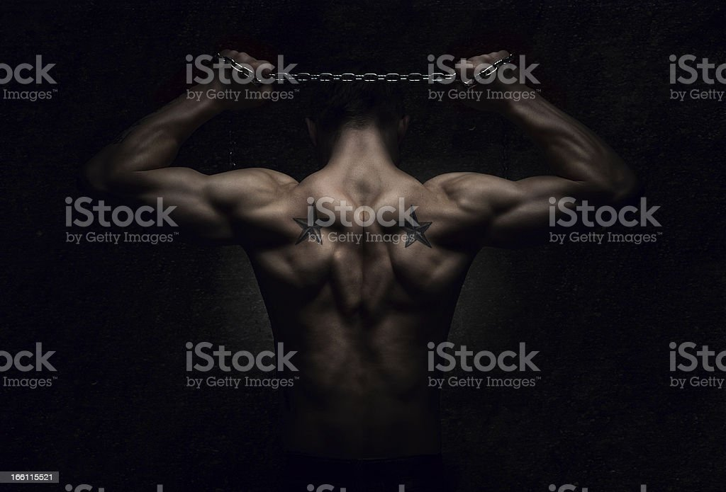 Strength royalty-free stock photo