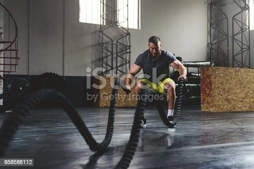 istock Strengthen and sweat 658588112