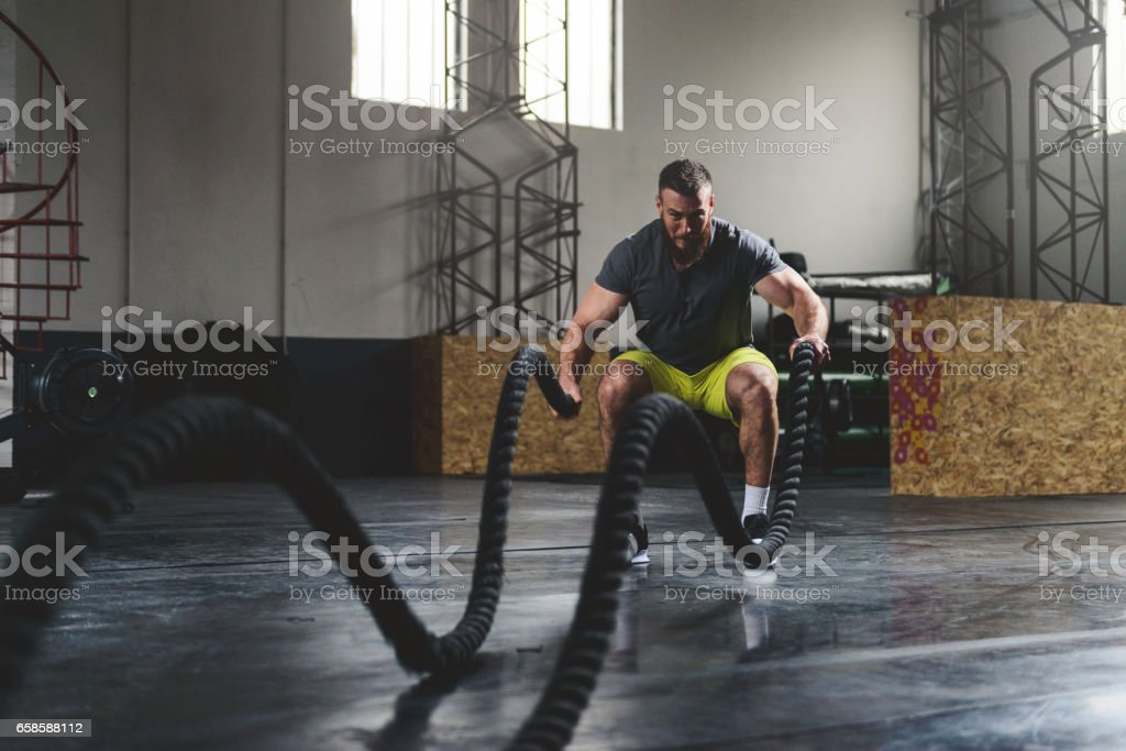 Strengthen and sweat stock photo