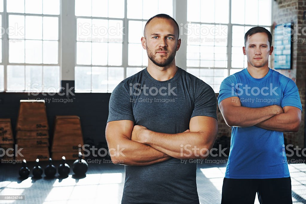 Strengthen your willpower stock photo