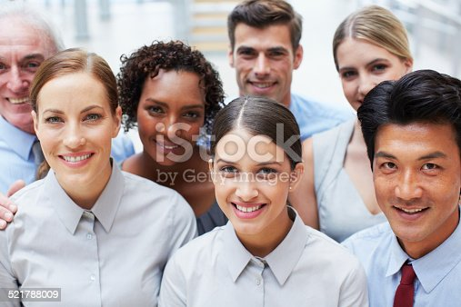 istock Strengthening the workplace through diversity 521788009