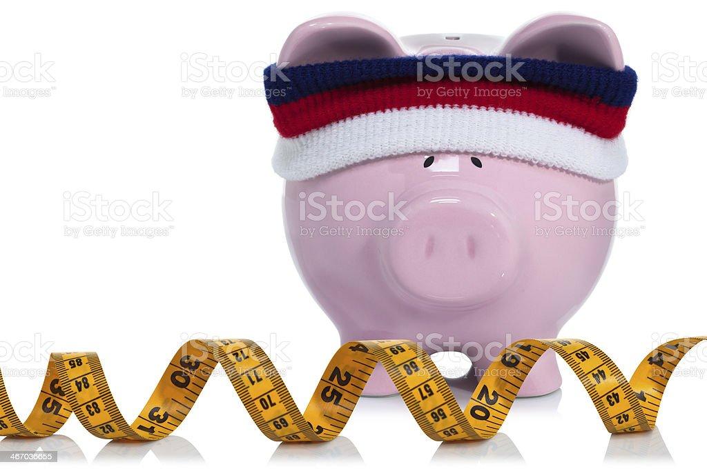 Strengthening your savings stock photo