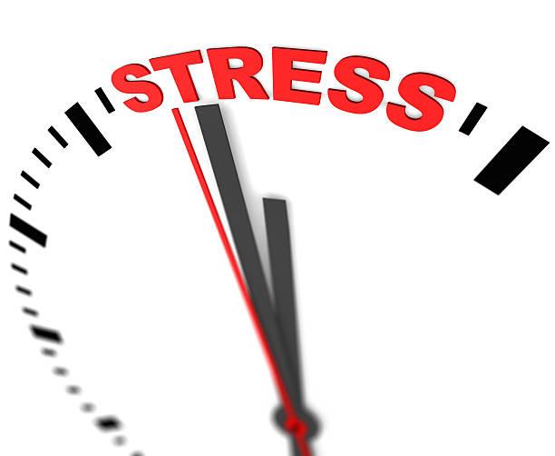 Stress und Uhr – Foto