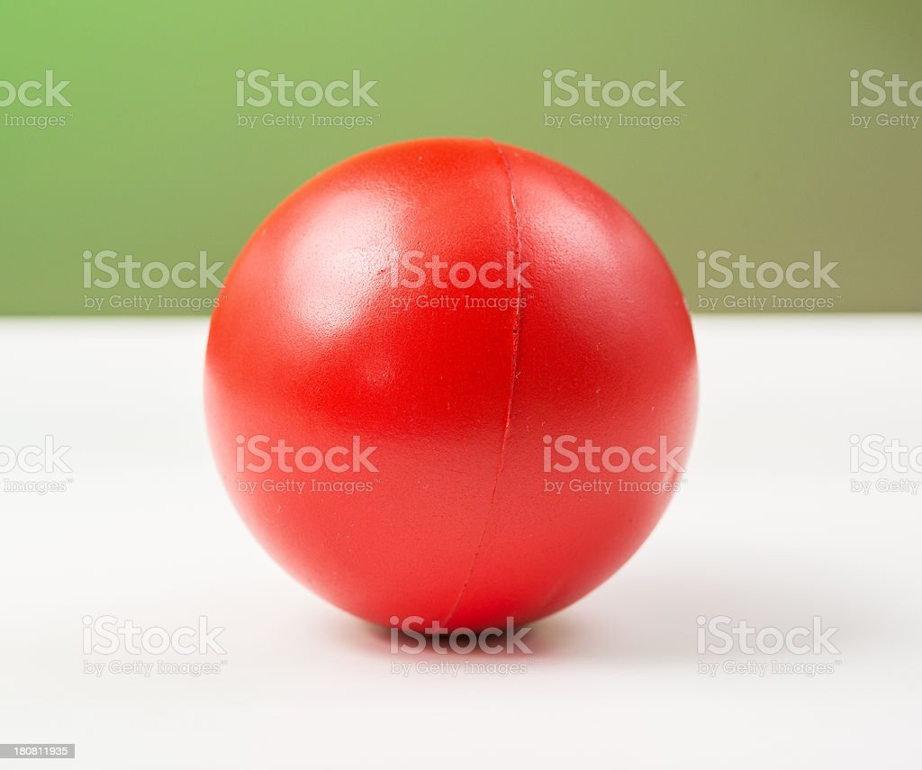 Stress Ball royalty-free stock photo