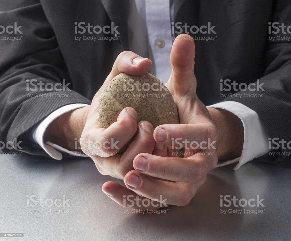 stress management at the office royalty-free stock photo