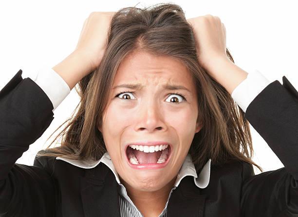 stress - puxar cabelos imagens e fotografias de stock