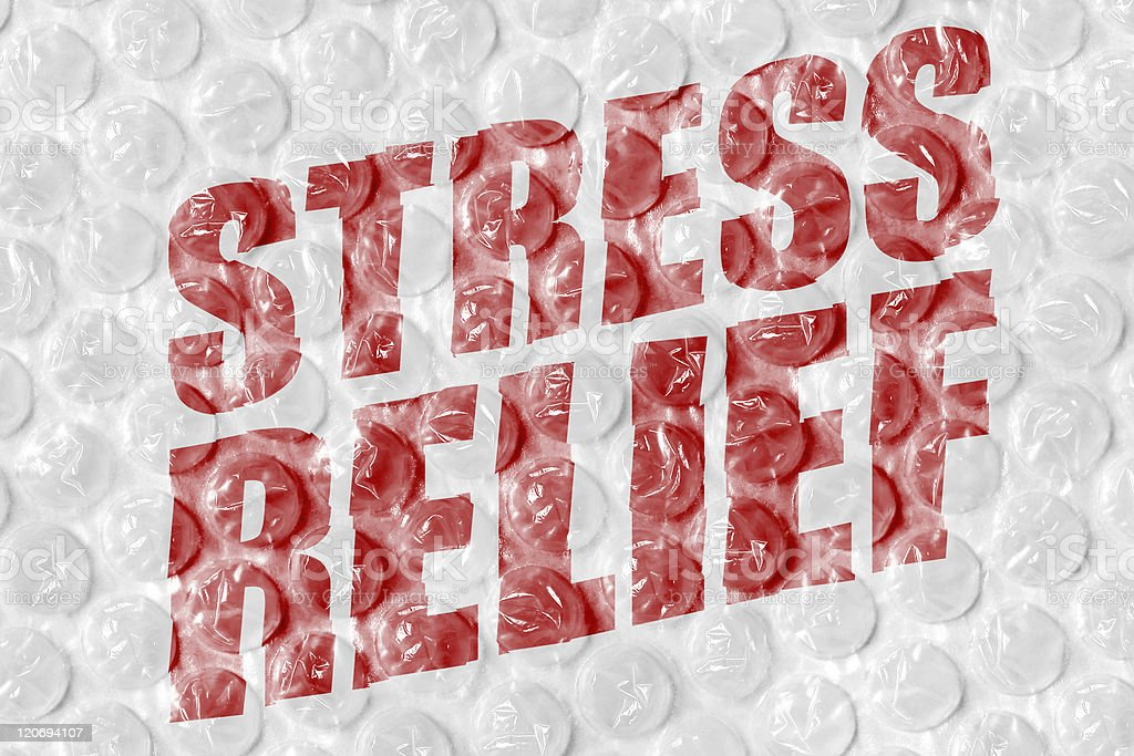 Stress Relief royalty-free stock photo