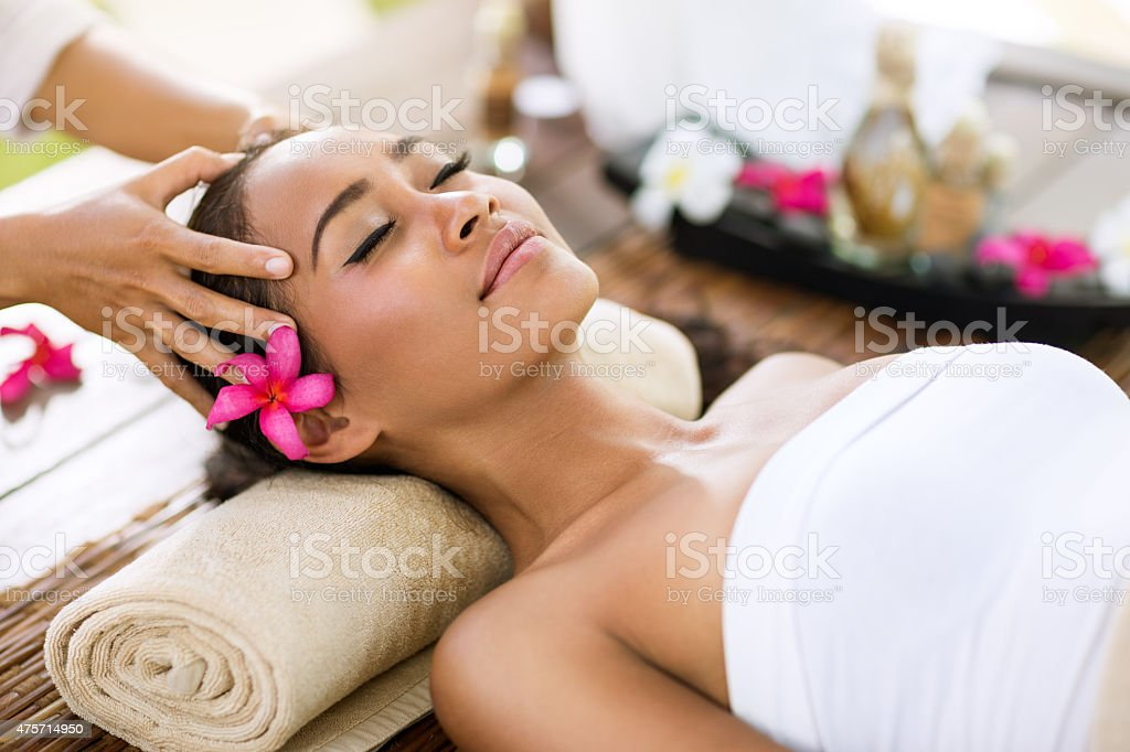 Stress removing stock photo