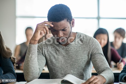 istock Stressed About an Exam 618610052