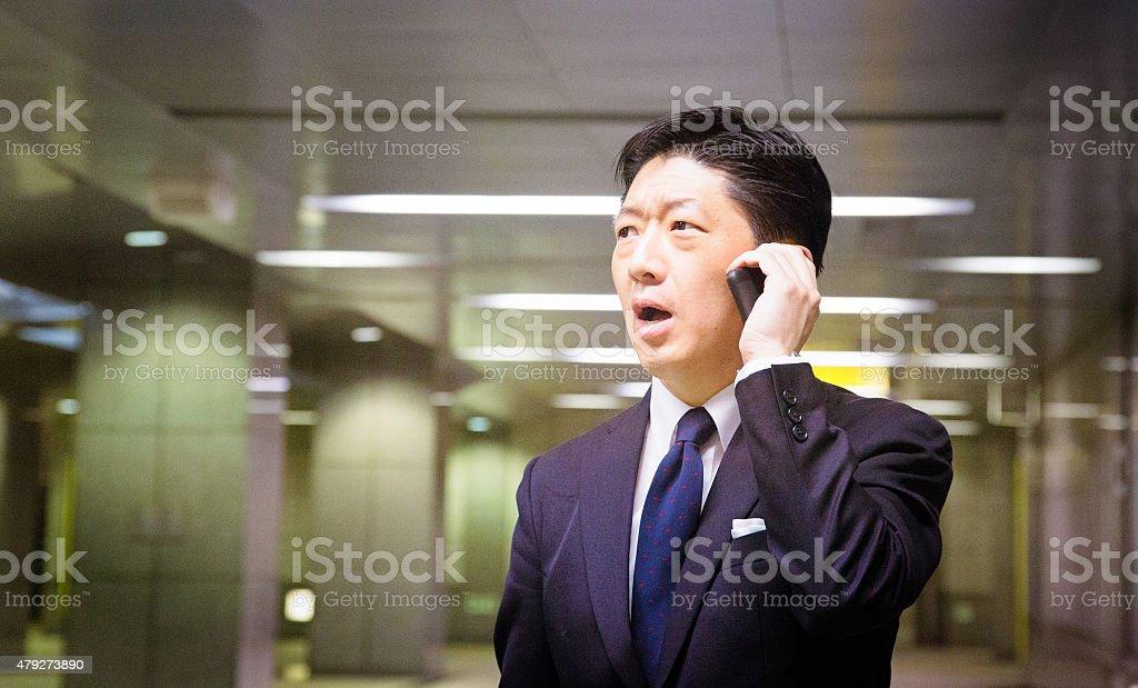 ストレスのたまった日本のビジネ...
