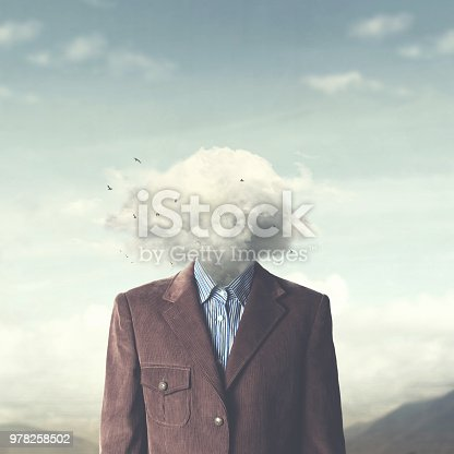 862431374 istock photo stressed man head in the cloud 978258502