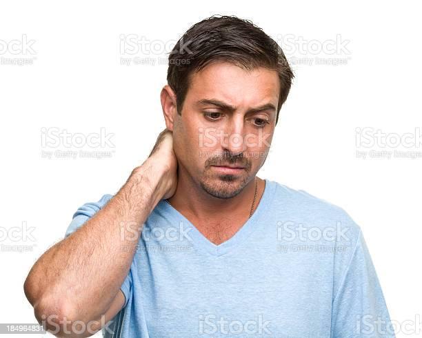 Stressed man rubs neck picture id184964831?b=1&k=6&m=184964831&s=612x612&h=zejlc9rr1zcl  0jxbfe2dh2xtdzprvcuxbux ndt4e=